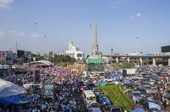 Bangkok-Abschaltung: Am 13. Januar 2014 Stockfoto