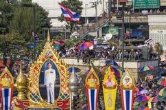 Bangkok-Abschaltung: Am 13. Januar 2014 Stockbild