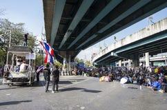 Bangkok-Abschaltung: Am 13. Januar 2014 Lizenzfreie Stockbilder