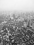Bangkok aerial Royalty Free Stock Photography