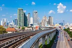 Bangkok aerial view Royalty Free Stock Photo