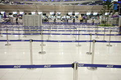 Bangkok airport Royalty Free Stock Images