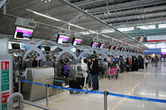 Bangkok airport Royalty Free Stock Photos