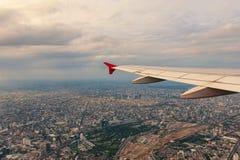 Bangkok-Ansicht von der Fläche Lizenzfreie Stockfotografie