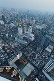Bangkok antennsikt Arkivfoton