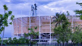 Bangkok Arena is an indoor sporting arena, located in Nong Chok. District of Bangkok, Thailand Royalty Free Stock Photo