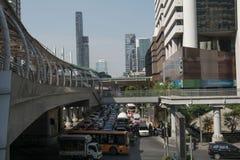 Bangkok, Asia sity Tajlandia Obrazy Royalty Free