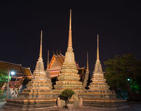 Bangkok, Asia sity Tajlandia, religia Zdjęcie Royalty Free
