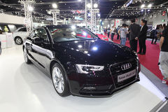 BANGKOK - August 19: Audi New Audi A5 car on display at Big Moto Royalty Free Stock Photo