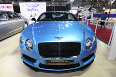 BANGKOK - August 19: Bentley Continental GT V8 S car on display Stock Image