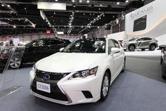 BANGKOK - August 19: Lexus CT200h car on display at Big Motor sa Royalty Free Stock Photo