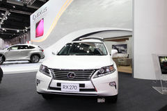 BANGKOK - August 19: Lexus RX270 car on display at Big Motor sal Royalty Free Stock Photo