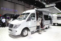 BANGKOK - August 4: Mercedes Benz car modify by Airstream  on di Stock Image