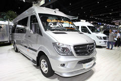 BANGKOK - August 4: Mercedes Benz car modify by Airstream  on di Stock Photography