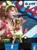 """BANGKOK - AUGUST 30 : Tanaka Reina (Vocals Leader) from LoVendor. Group in Japan Festa in Bangkok 2014 """"Enter 10th Celebration"""" on August 30, 2014 at Royalty Free Stock Photography"""