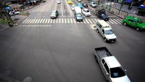 BANGKOK 3 august 2014, Traffic on road  in Bangkok. Traffic on road  in Bangkok, Thailand stock footage