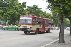 Bangkok autobusowy samochód liczba 203 Zdjęcia Royalty Free