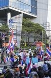 Bangkok avstängning: Januari 14, 2014 Royaltyfria Bilder