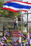 Bangkok avstängning: Januari 14, 2014 Arkivbilder