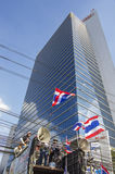 Bangkok avstängning: Januari 14, 2014 Royaltyfri Foto