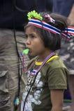 Bangkok avstängning: Januari 14, 2014 Fotografering för Bildbyråer