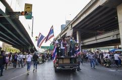 Bangkok avstängning: Januari 13, 2014 Royaltyfri Fotografi