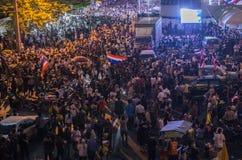 Bangkok avstängning: Januari 13, 2014 Royaltyfri Foto