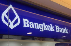 Bangkok Bank Thailand Royalty Free Stock Photos