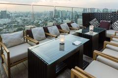 Bangkok bar rooftop royalty free stock photography