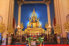 bangkok benchamabophitthailand wat Arkivbild