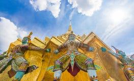 bangkok berömdt tempel Royaltyfri Bild