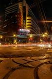 Bangkok bij nacht, 2013 royalty-vrije stock foto's