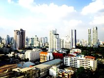Bangkok bis zum Tag lizenzfreie stockbilder