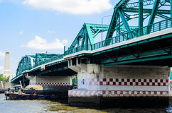 Bangkok bridge Stock Image