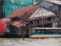 Bangkok broken house Stock Photography