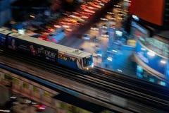 Bangkok BTS Skytrain photo libre de droits