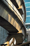 Bangkok BTS Skytrain Architecture, Thailand Royalty Free Stock Photo