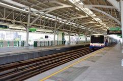 BANGKOK BTS Skytrain at  Thailand. Stock Image