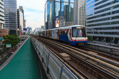 Bangkok BTS train system Stock Image