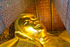 bangkok buddha reclining thailand Royaltyfria Bilder