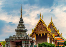 bangkok buddha smaragdtempel thailand Royaltyfri Fotografi