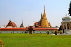 bangkok buddha smaragdtempel thailand Arkivbild