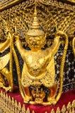bangkok Buddha szmaragdowej garuda kaew phra statuy świątynny Thailand wat zdjęcia royalty free