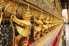 bangkok Buddha szmaragdowej garuda kaew phra statuy świątynny Thailand wat Fotografia Royalty Free