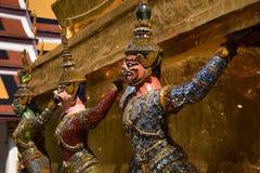 bangkok Buddha szmaragdowej garuda kaew phra statuy świątynny Thailand wat Obrazy Stock