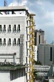 bangkok budynków wyjścia ogień Zdjęcia Royalty Free
