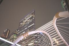 Bangkok budynku drapacz chmur Fotografia Royalty Free