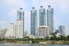 Bangkok building Stock Photos