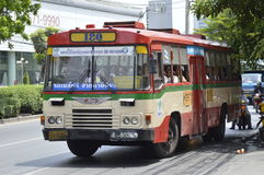 Bangkok bus car number 180 Stock Image
