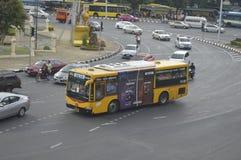 Bangkok bus car Royalty Free Stock Images